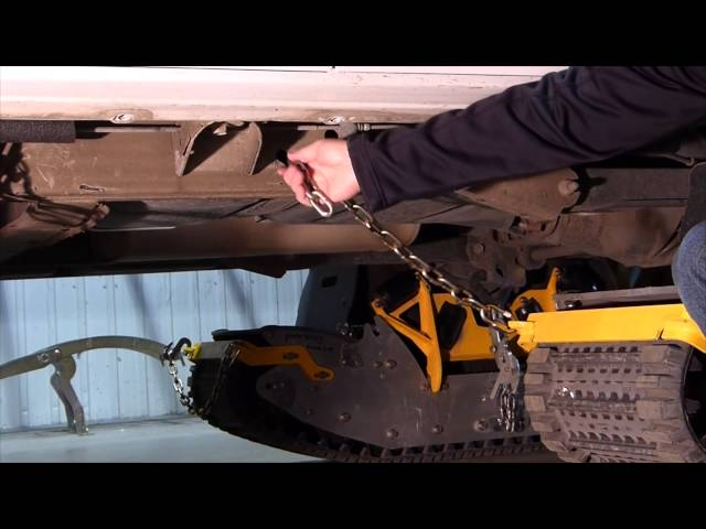 Track N Go installation SUV-KIT (English)