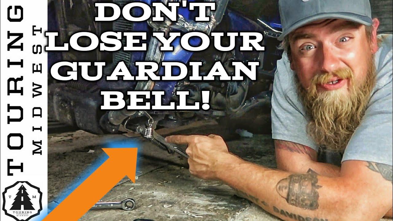 Guardian® Bell Hanger Mount Motorcycle Luck Gremlin Harley Ride