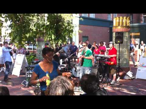 """T.I. - """"Whatever You Like"""" (Cover) Street Performance by Green Line Inbound"""