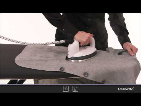 Laurastar - How to iron linen