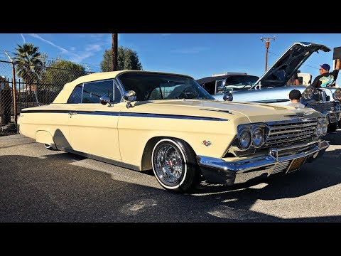 Cream LS Swapped 1962 Impala Convertible (watch In HD)