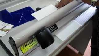 Trimalco Kronos cutting Corrugated Plastic 3mm