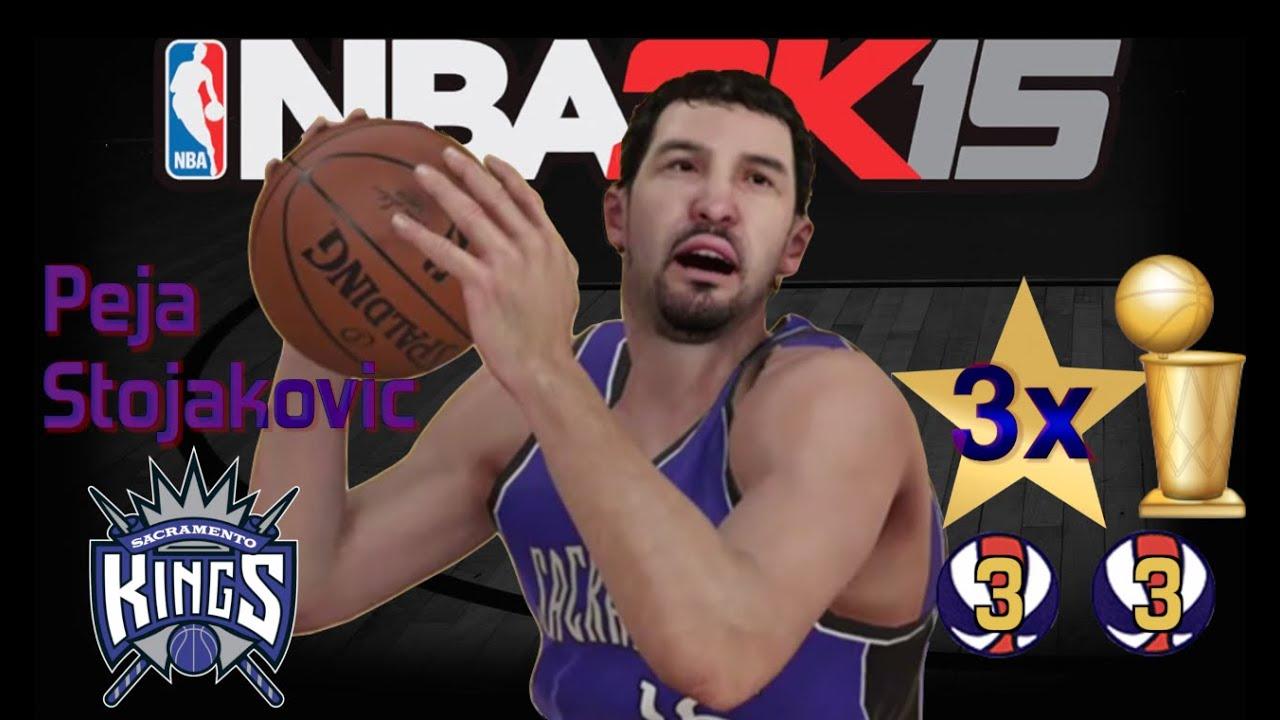 NBA 2K15 Peja Stojakovic Creation Attributes Features Badges