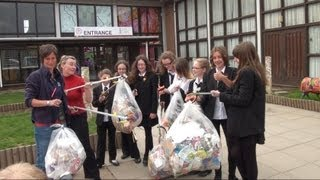 Tiverton High School House Learning Experience - Reduce, Reuse and Recycle