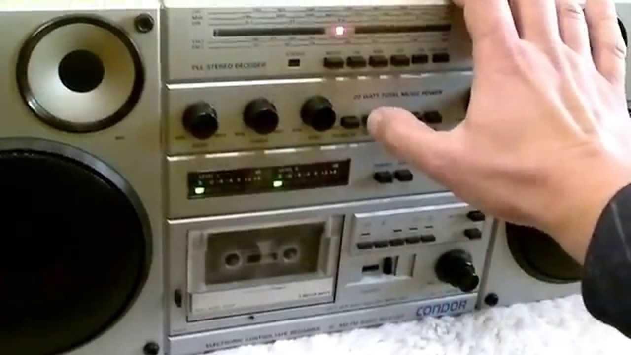 Świeże RMS 820-S CONDOR stary polski radiomagnetofon, old polish radio ZR73