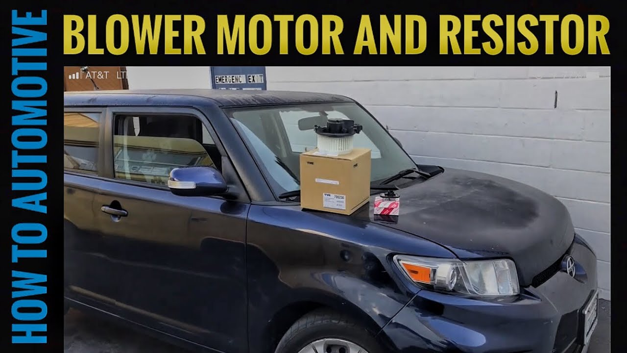 how to replace the blower motor  [ 1280 x 720 Pixel ]