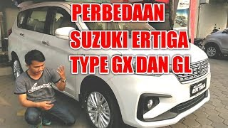 Perbedaan Suzuki Ertiga GX dan GL