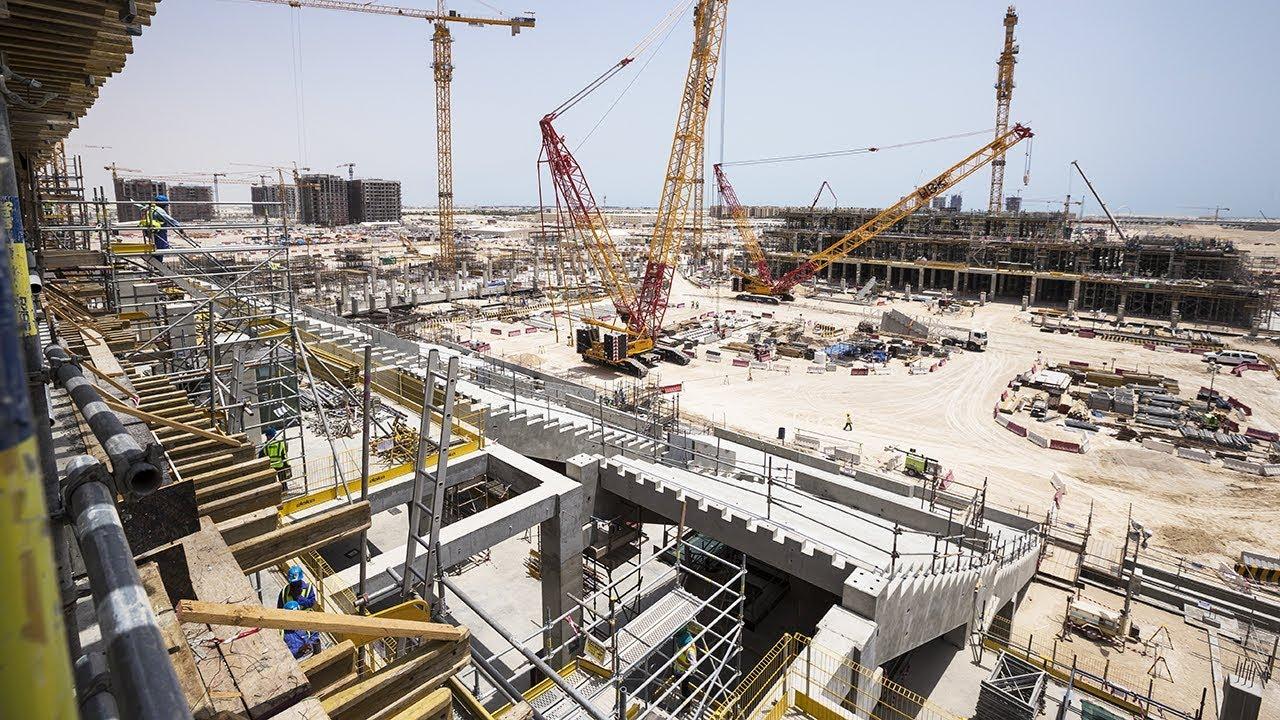 Lusail Stadium Progress – June 2018 | Qatar 2022
