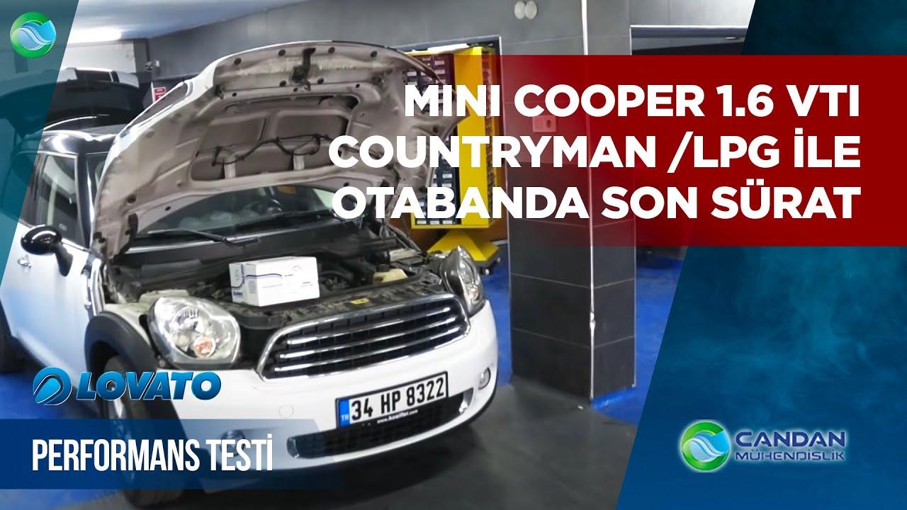 Mini Cooper 16 Vti Countryman Lpg Ile Otabanda Son Sürat Lovato