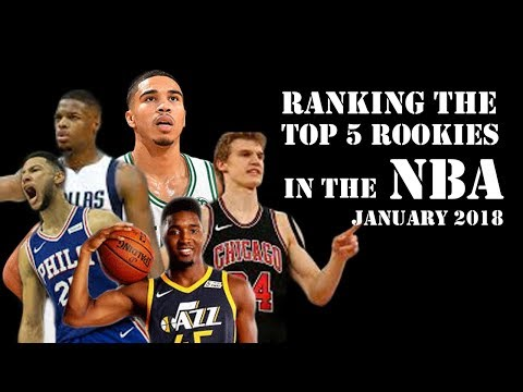 January 2018 Top 5 Best Rookies in the NBA - Best Chance to Win Rookie of The Year