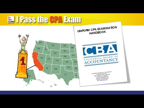 California CPA Exam Requirements Overview