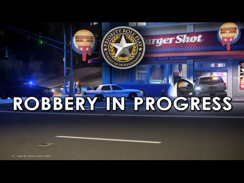 ROBBERY IN PROGRESS, PURSUIT + MORE! Priority Role Play Patrol