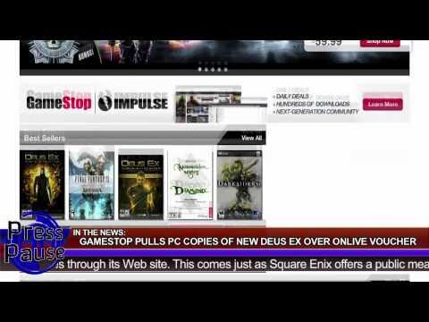 Mac Gaming and Gamestop/Deus Ex Kerfuffle
