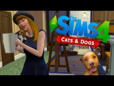 SIMS 4 I QUIT SOCIAL MEDIA AND ADOPTED A LOAD OF CUTE PUPPIES