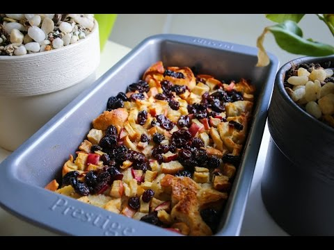 Cultlinary Episode 19 – Luqman's Bread Pudding with Apple and Raisins