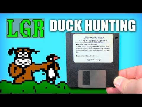 LGR - Hunting For Duck Hunt PC Games