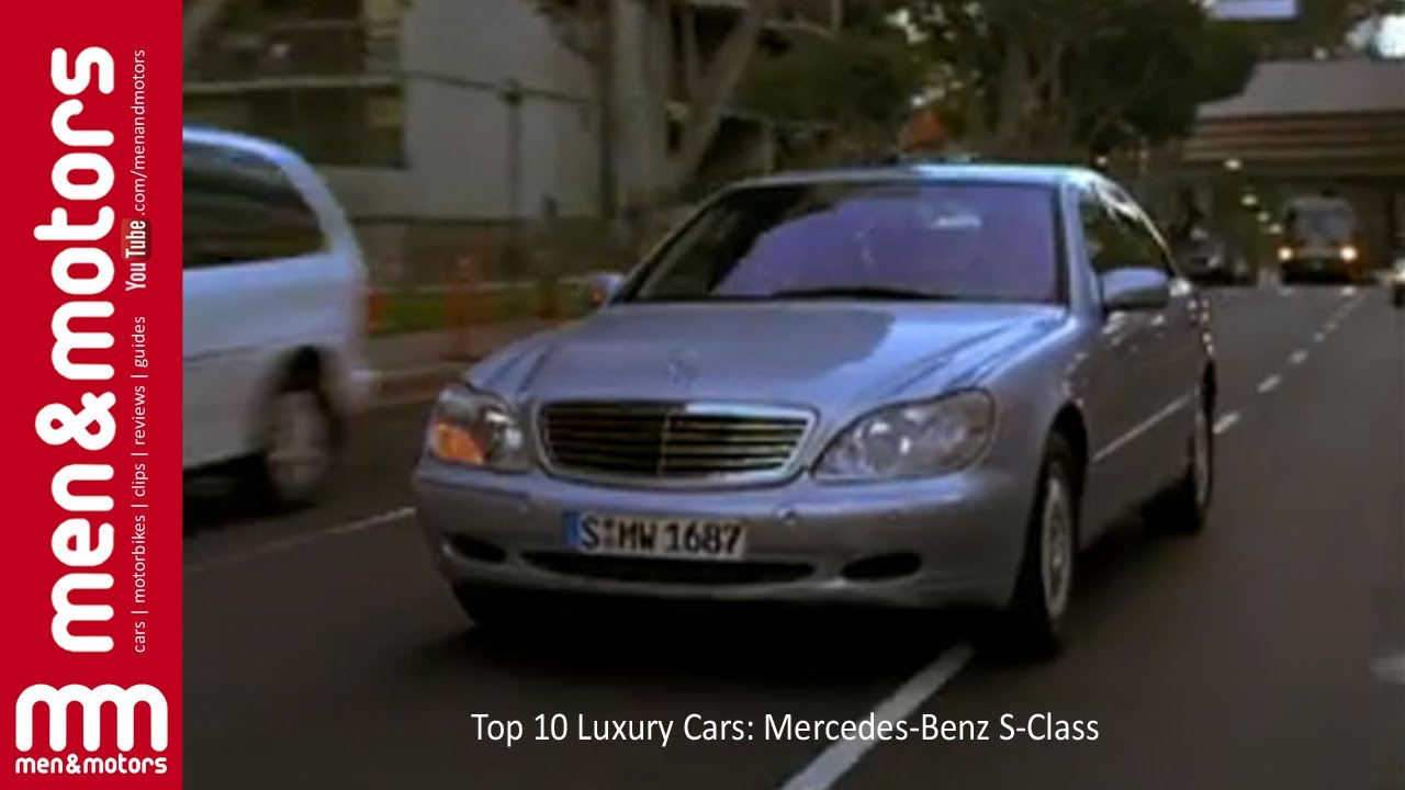 Top 10 Luxury Cars 2001 Mercedes Benz S Cl