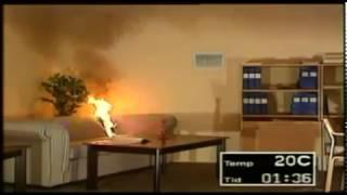Процесс развития пожара