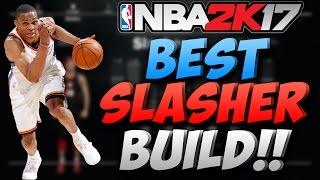 NBA 2K17 NEW BEST SLASHER BUILD!! DUNK ON EVERYBODY! (Best Slasher Build After Patch 7)