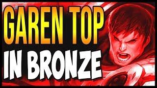 """Garen """"Garen is so dumb"""" League Of Legends Garen Top Season 8, Gameplay Funny moments"""