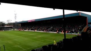 Sheffield United fans celebrate