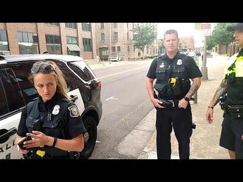 YOUR BEHAVIOR IS SUSPICIOUS RIGHT NOW  I don't answer questions first amendment audit