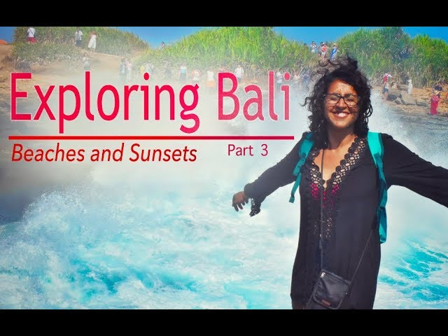 Exploring Bali Part #3 | Snorkeling at Nusa Islands | Surfing in Kuta | Sunset at Ulluwatu Temple