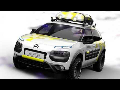 2017 citroen c4 cactus aventure concept youtube. Black Bedroom Furniture Sets. Home Design Ideas