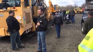 2014 NRC railroad construction equipment auction