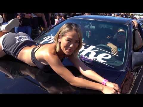 ImportFaceOff bakersfield 2017 Vlog #8 (Limbo ,Drag racing, models, showcars)