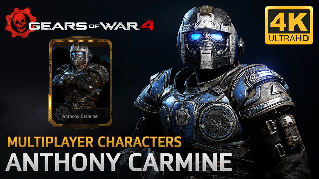 how to get gary carmine in gears of war 4