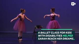 Ballet helped this girl walk on her own