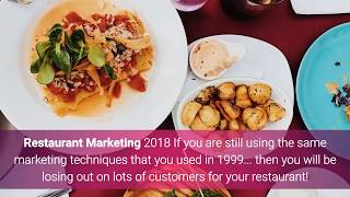 Restaurant Marketing 2018 - Restaurant Marketing Strategies