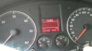 Volkswagen Caddy Servis km sıfırlama / How to Volkswagen Service km reset