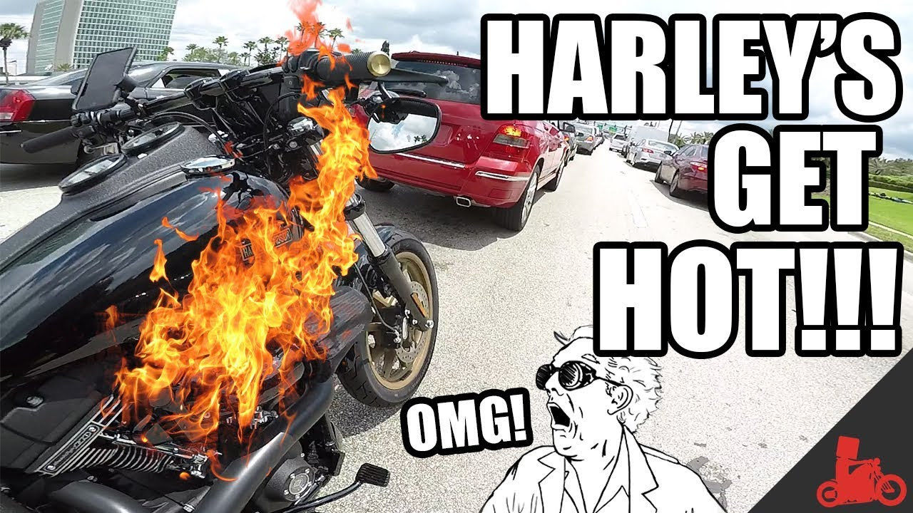 Harley's get HOT! Monitoring Engine Temps Vol  01 - Harley Dyna Low Rider S