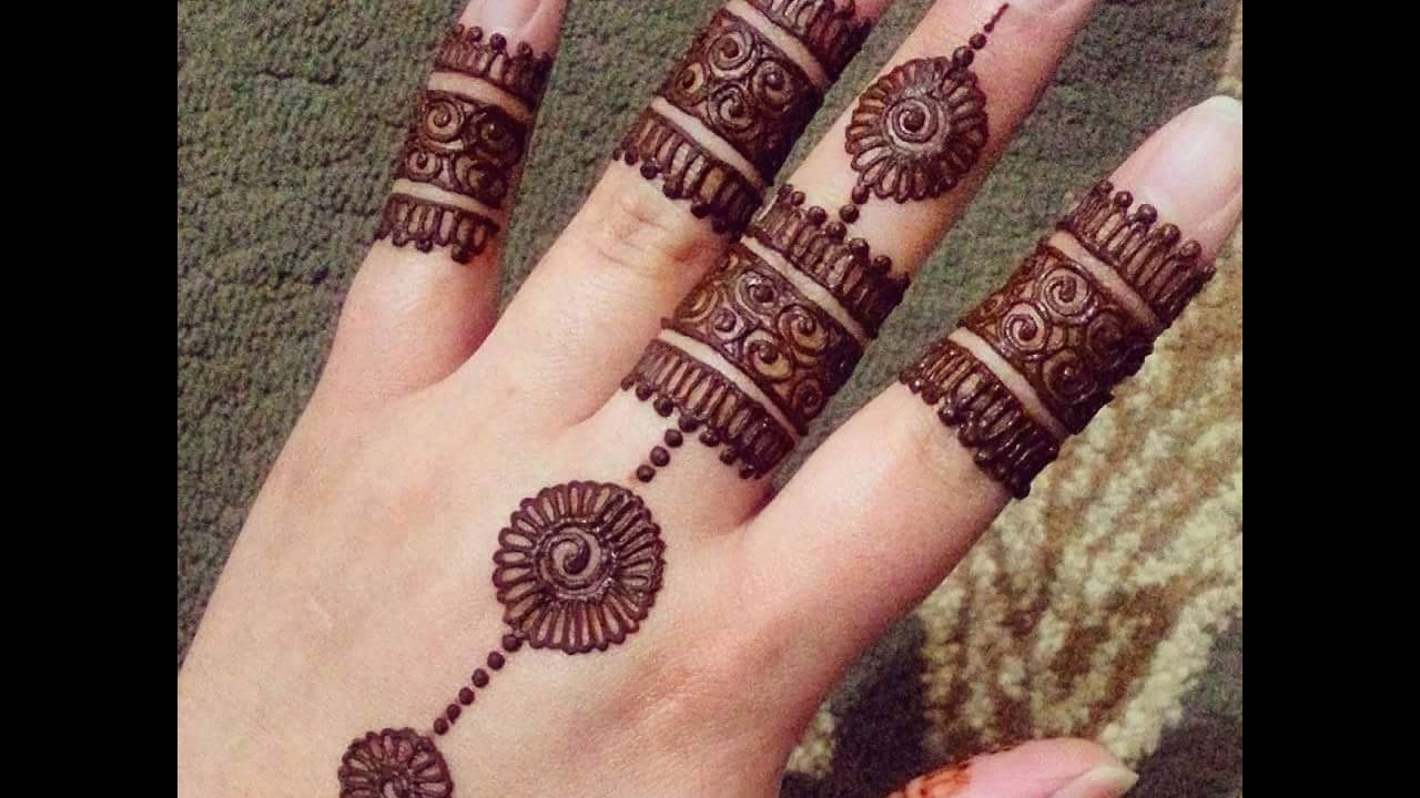 Quick Mehndi Patterns : Mehndi designs easy simple