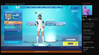 I'M LOOKING FOR PEOPLE FOR MY FORTNITE TEAM.