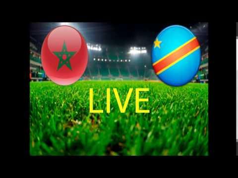 Maroc vs Congo Live
