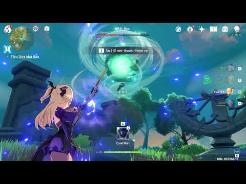 Genshin Impact - World Quest:  Time and the Wind - Thời gian và gió