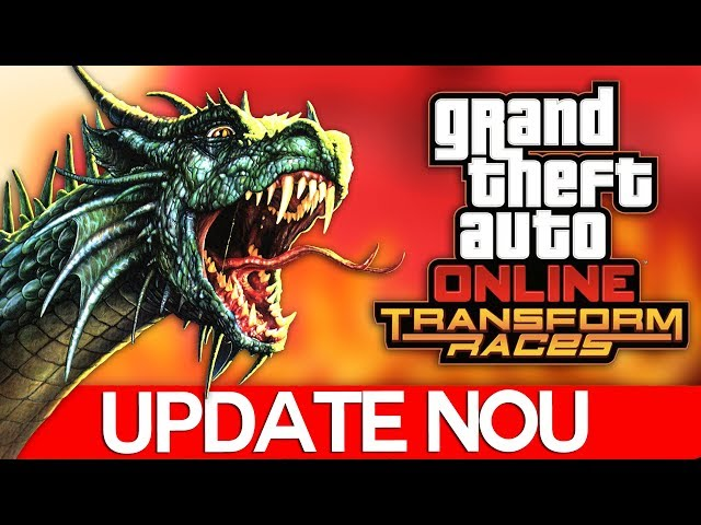 IN DRAGON TRANSFORM, UPDATE NOU IN GTA!
