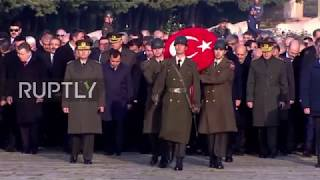Turkey: Erdogan commemorates 79th anniversary of Ataturk's death in Ankara