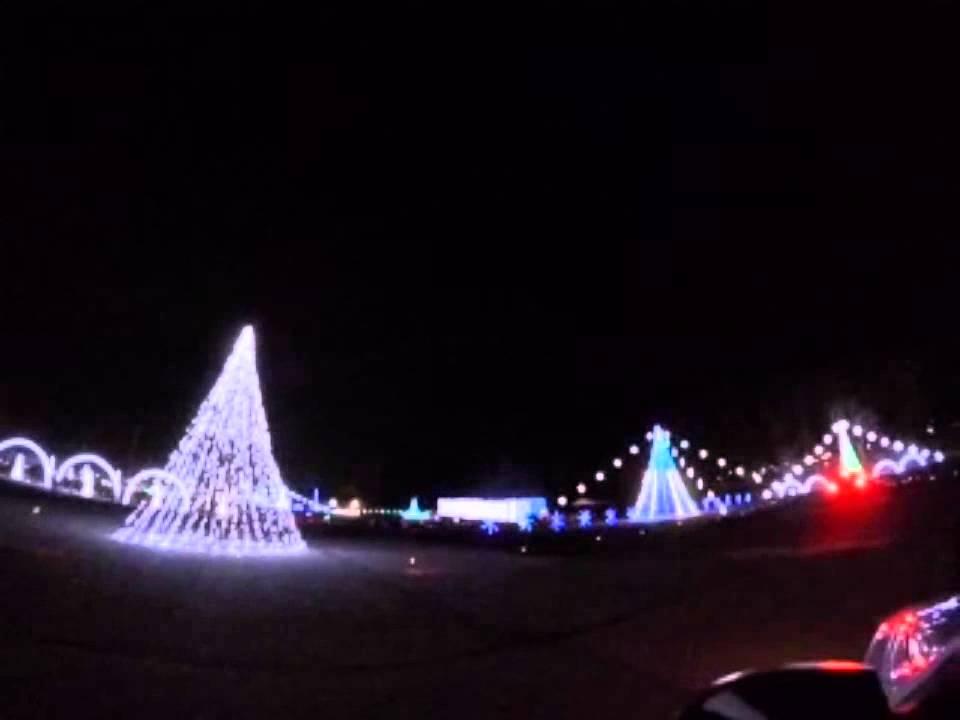 Luces de Navidad Shadrack's Christmas Wonderland Lights, Asheville ...