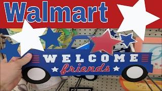 Walmart 4th of July & Summer Decor!
