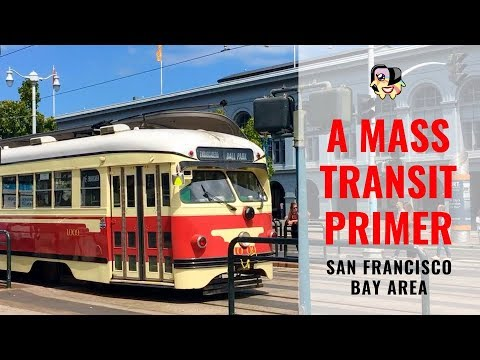 Riding Public Transportation In San Francisco Bay Area