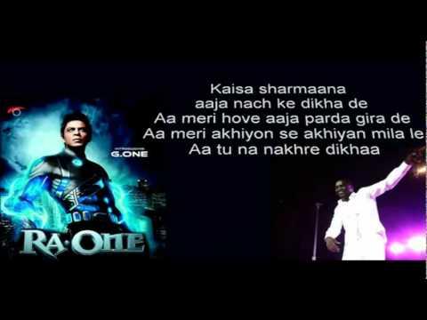 Muthada Chammak Challo Lyrics Ra One Song Lyrics (Tamil)