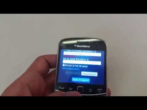 Reset Blackberry Bold 9900 BlackberryID Hard Reset