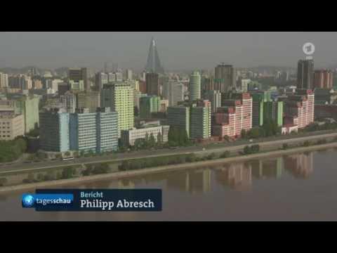 Nordkorea Parteitag Bericht der ARD über Pjöngjang