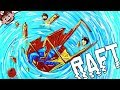 THE END OF RAFT! | The Shark Doctor is Fin! (RAFT Multiplayer)