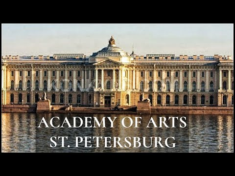 St Petersburg City Walking Tour | Repin Academy of Arts, University Embankment | With Captions!