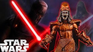 The First Darth: Immortal Sith God Andeddu - Star Wars Explained